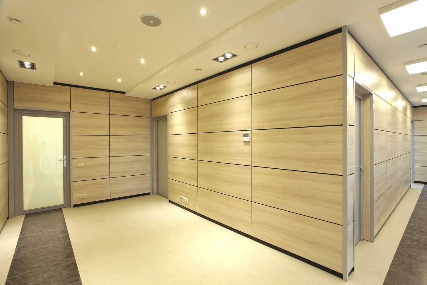 Стеновые панели для внутренней отделки офиса